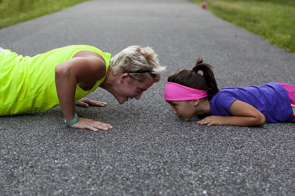 Practicando ejercicio