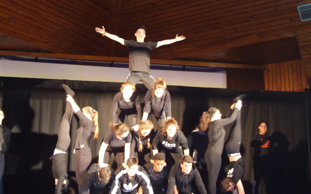 Éxito de participación en el V Encuentro Intercentros de Acrosport celebrado en Huesca