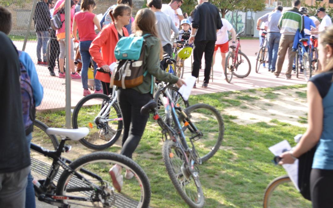 Más de 500 bicicletas pasaron la ITB