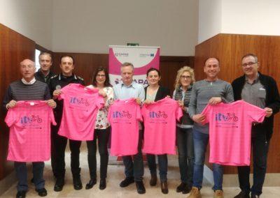 Representantes de las instituciones y entidades que colaboran en la campaña ITB.