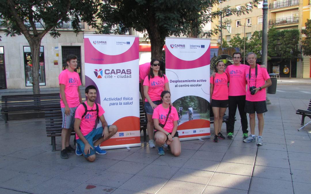 CAPAS-Ciudad, muy activa en la Semana Europea de la Movilidad