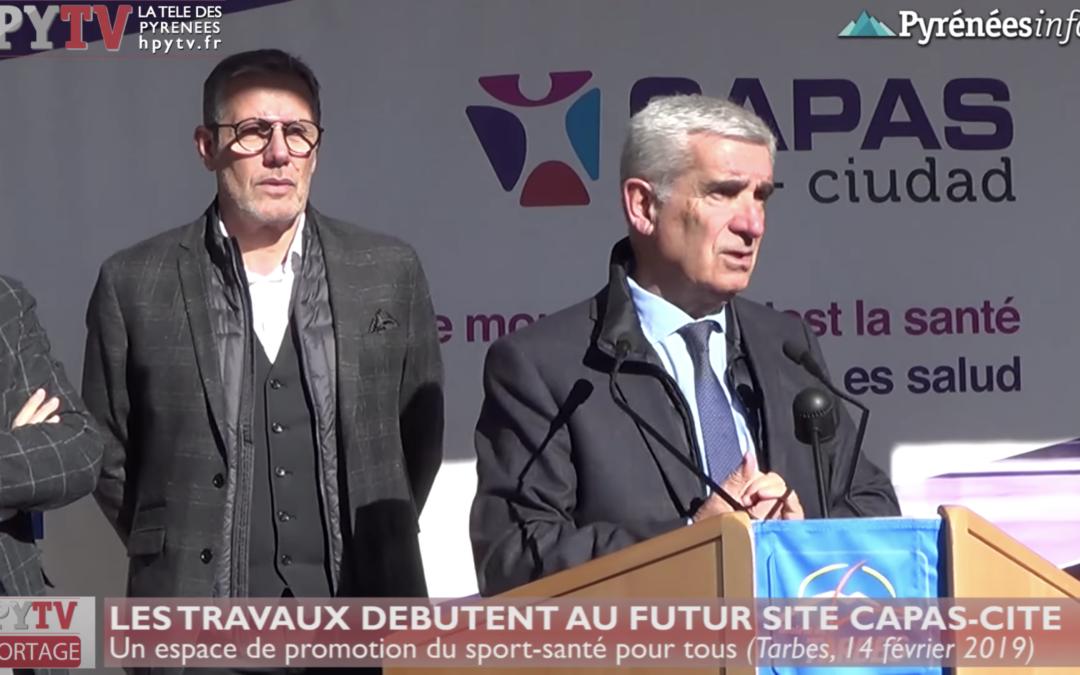 Acto inaugural de puesta en marcha del edificio CAPAS en Tarbes