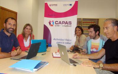 Encuentro entre CAPAS-Ciudad y el programa Proyectos Escolares Saludables, de Castilla La Mancha