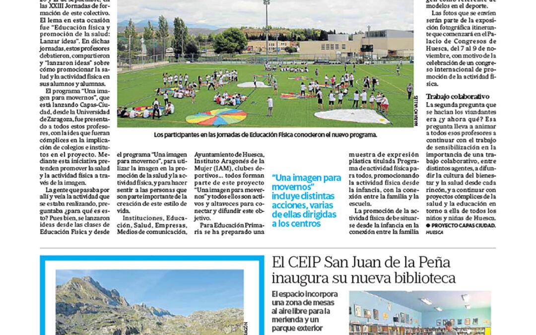 Las Jornadas de Educación Física, en la prensa