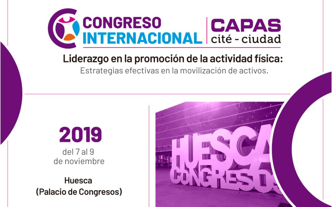 Éxito en la aportación de trabajos para el Congreso Internacional de CAPAS-Ciudad en Huesca